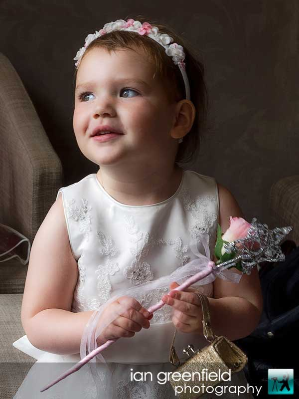 flower girl, Wedding Photographs taken at Aldwark Manor, Yorkshire professional wedding photographer, aldwark manor photographer, york, ian greenfield photography
