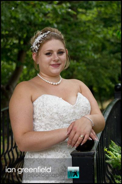 mount pleasant hotel doncaster bride on bridge